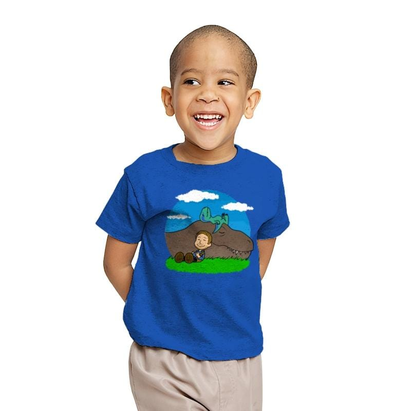 Jurassic Peanuts - Youth - T-Shirts - RIPT Apparel