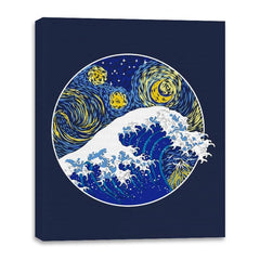 Starry Wave - Canvas Wraps - Canvas Wraps - RIPT Apparel