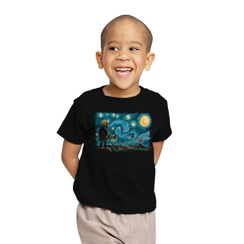 Starry Breath - Youth - T-Shirts - RIPT Apparel