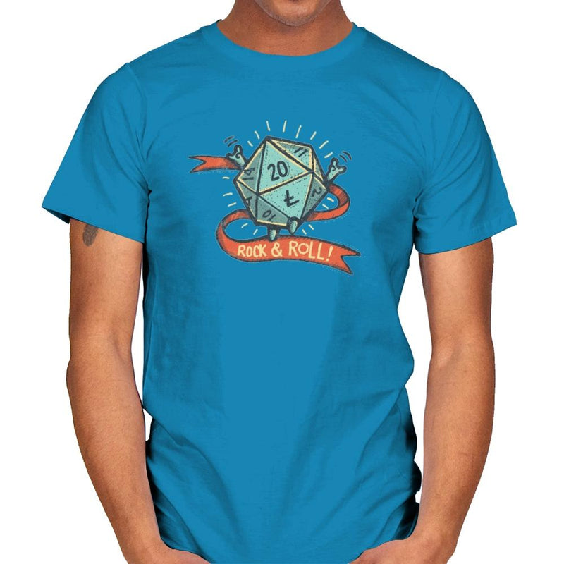 Rock and Rollplay - Mens - T-Shirts - RIPT Apparel