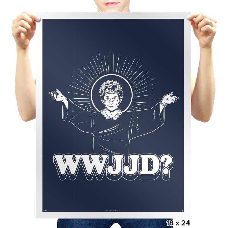 WWJJD? Exclusive - Prints - Posters - RIPT Apparel