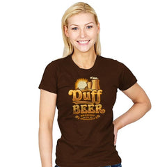 Duff Brewing Co. - Womens - T-Shirts - RIPT Apparel