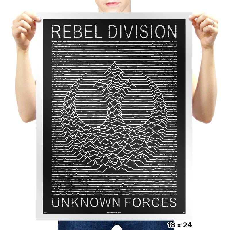 Rebel Division - Prints - Posters - RIPT Apparel