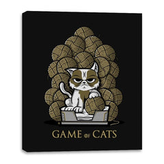 Game Of Cats - Canvas Wraps - Canvas Wraps - RIPT Apparel