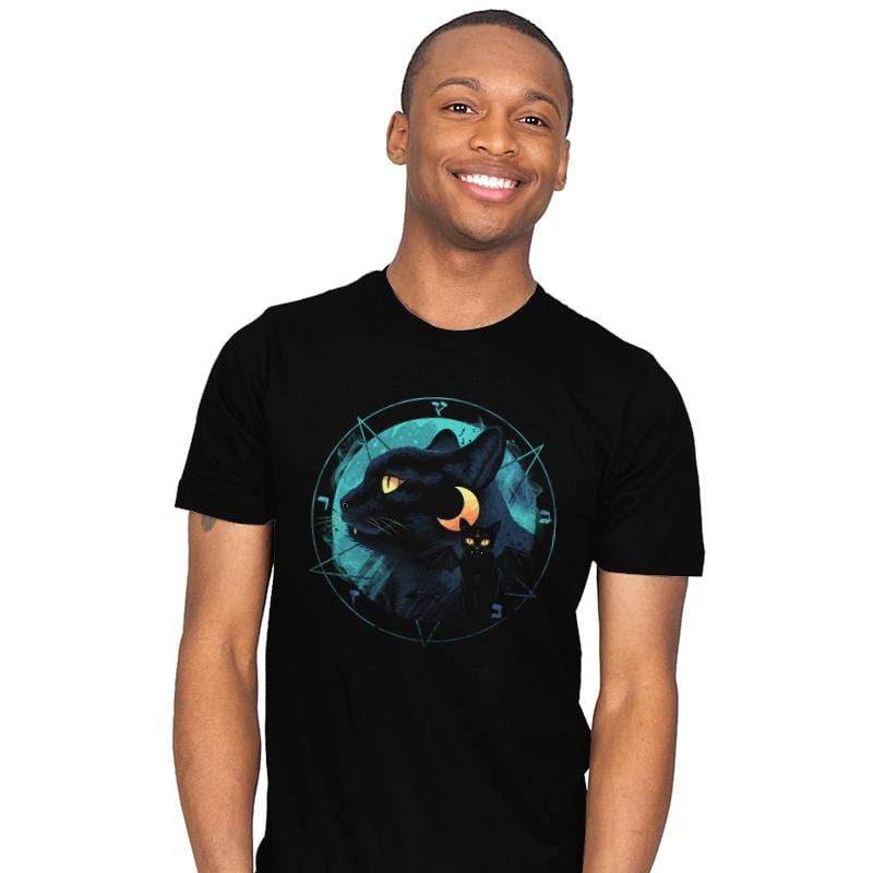 Puss the Evil Cat - Mens - T-Shirts - RIPT Apparel