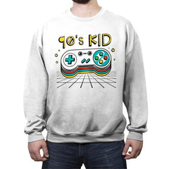 Ultimate 90's Kid - Crew Neck Sweatshirt - Crew Neck Sweatshirt - RIPT Apparel
