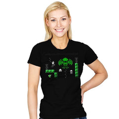 The Call of Bloopthulhu - Womens - T-Shirts - RIPT Apparel