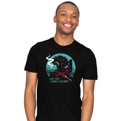 Cowboy in Space - Mens - T-Shirts - RIPT Apparel