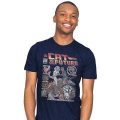 Cat to the Future - Mens - T-Shirts - RIPT Apparel