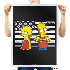 Simpsonia - Prints - Posters - RIPT Apparel