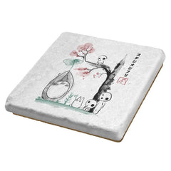 Growing Trees Sumi-e - Coasters - Coasters - RIPT Apparel