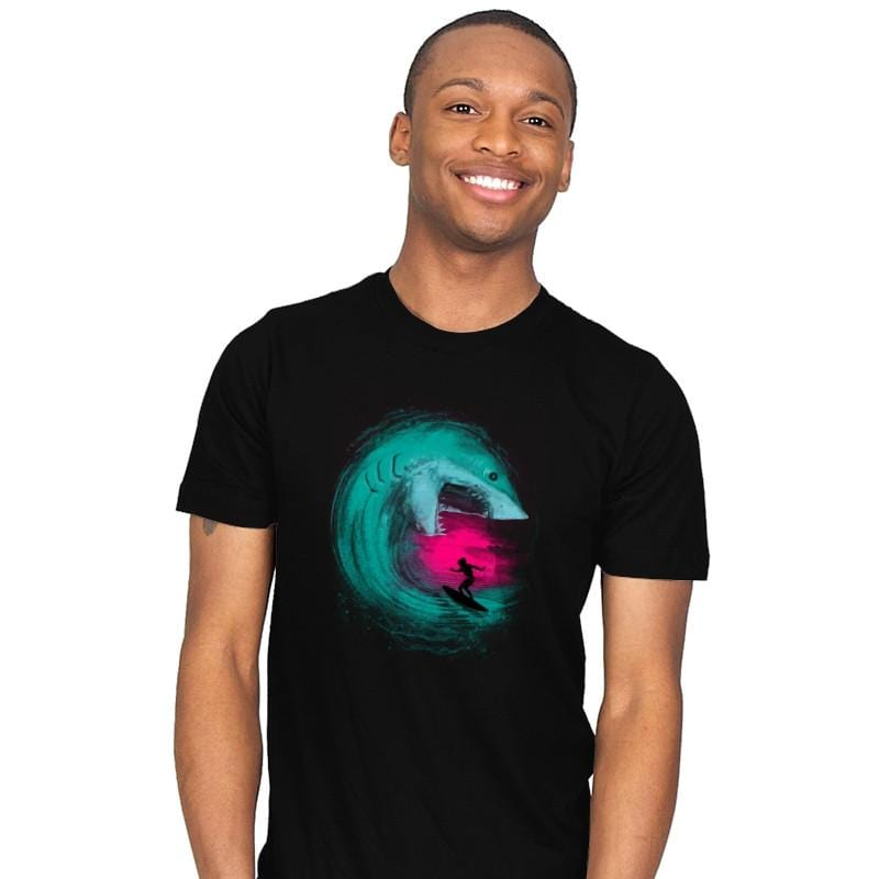 Shark Attack - Back to Nature - Mens - T-Shirts - RIPT Apparel