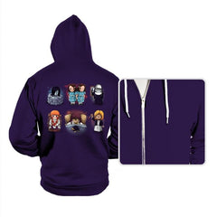 Horror Girls - Hoodies - Hoodies - RIPT Apparel