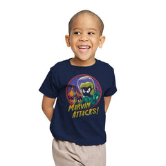 Marvin Attacks! - Youth - T-Shirts - RIPT Apparel