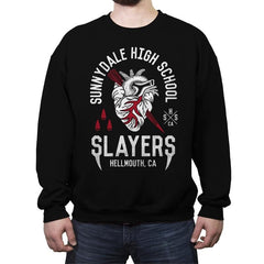 Sunnydale Slayers - Crew Neck Sweatshirt - Crew Neck Sweatshirt - RIPT Apparel