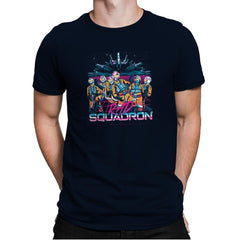 Rad Squadron Exclusive - Mens Premium - T-Shirts - RIPT Apparel