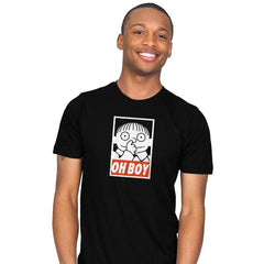 Oh Boy Exclusive - Mens - T-Shirts - RIPT Apparel