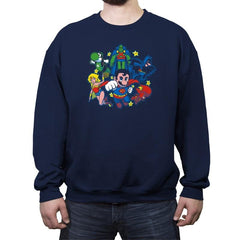 Mushroom League Reprint - Crew Neck Sweatshirt - Crew Neck Sweatshirt - RIPT Apparel