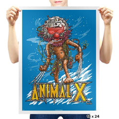Animal X - Prints - Posters - RIPT Apparel