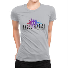 Angel Fantasy - Womens Premium - T-Shirts - RIPT Apparel
