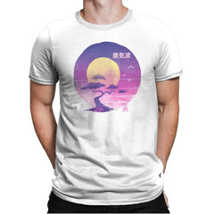 Bonsai Wave - Mens Premium - T-Shirts - RIPT Apparel