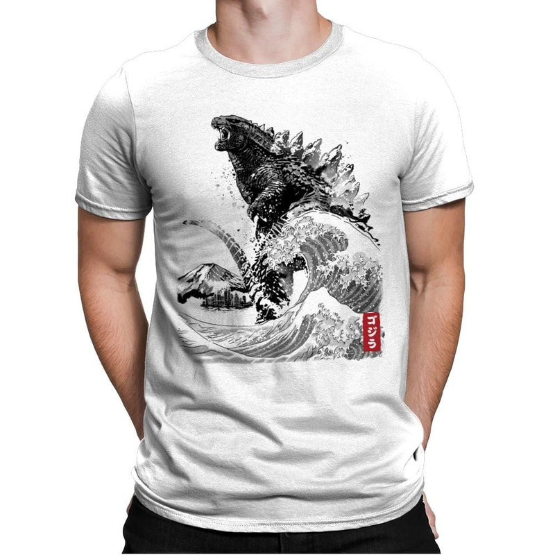 The Rise of Gojira - Mens Premium - T-Shirts - RIPT Apparel