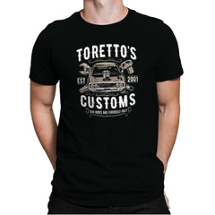 Toretto's Customs Exclusive - Mens Premium - T-Shirts - RIPT Apparel