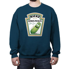 Rickz Pickles - Crew Neck Sweatshirt - Crew Neck Sweatshirt - RIPT Apparel