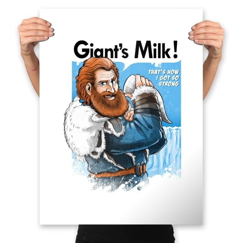 Giant's Milk! - Prints - Posters - RIPT Apparel