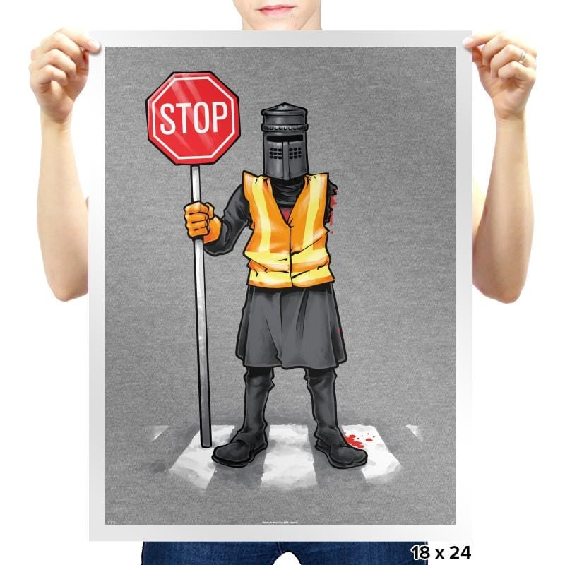 The Crossing Knight - Prints - Posters - RIPT Apparel