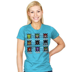 MegaBat Brick Masters - Womens - T-Shirts - RIPT Apparel