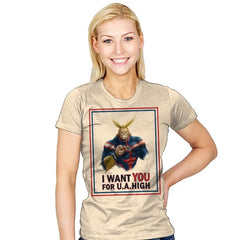 Join U.A. High  - Womens - T-Shirts - RIPT Apparel
