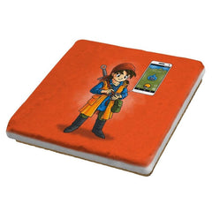 Dragon Quest Go - Pop Impressionism - Coasters - Coasters - RIPT Apparel