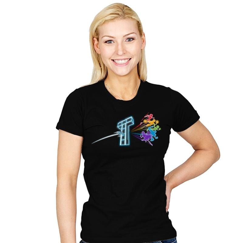 Teenage Side of the Titans - Womens - T-Shirts - RIPT Apparel