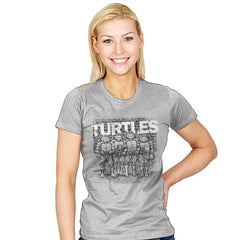 TURTLES - Womens - T-Shirts - RIPT Apparel