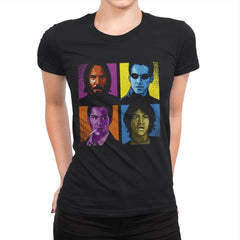 Pop Keanu - Anytime - Womens Premium - T-Shirts - RIPT Apparel