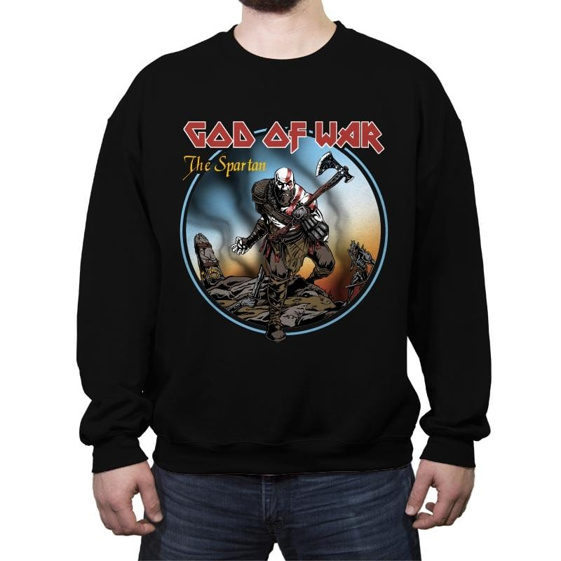 The Spartan - Crew Neck Sweatshirt - Crew Neck Sweatshirt - RIPT Apparel