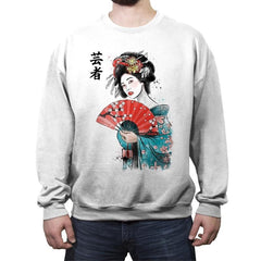 Geisha - Crew Neck Sweatshirt - Crew Neck Sweatshirt - RIPT Apparel
