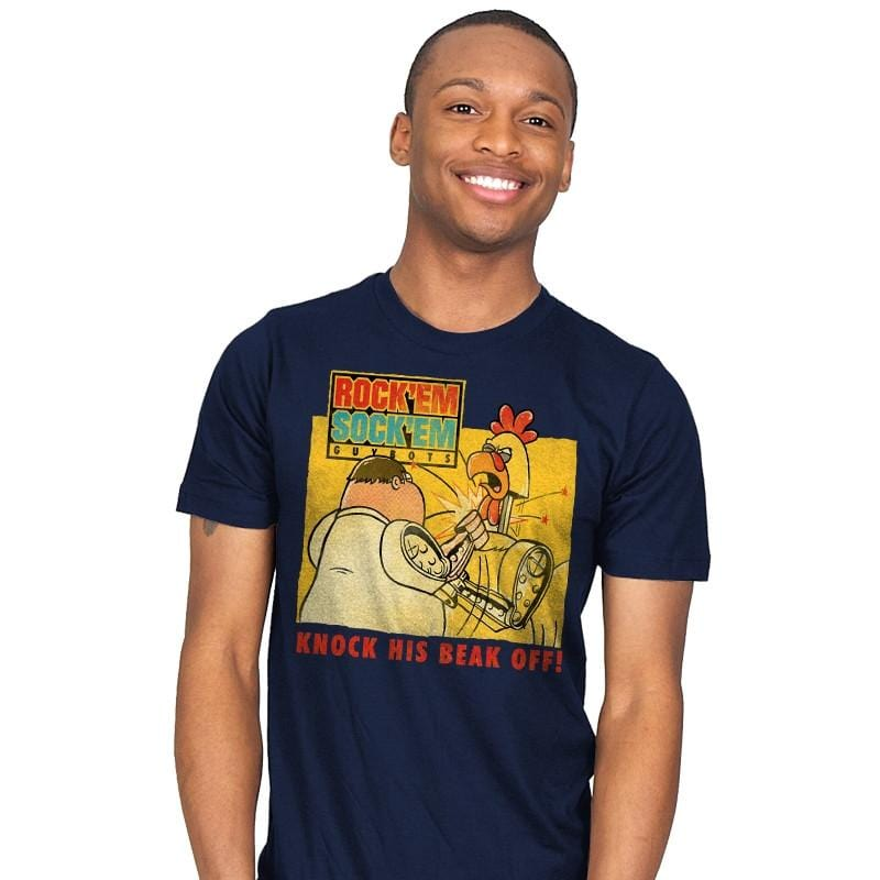 Rock'em Sock'em Guybots - Mens - T-Shirts - RIPT Apparel