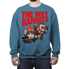 Super Wet Bandits - Crew Neck Sweatshirt - Crew Neck Sweatshirt - RIPT Apparel