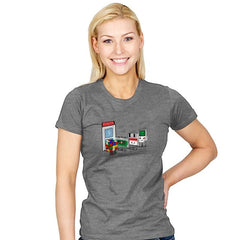 Retro Employment Office - Womens - T-Shirts - RIPT Apparel