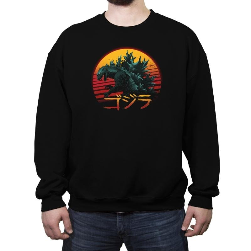 Rad King - Crew Neck Sweatshirt - Crew Neck Sweatshirt - RIPT Apparel
