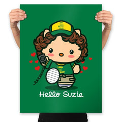 Hello Suzie - Prints - Posters - RIPT Apparel