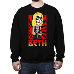 Beth - Crew Neck Sweatshirt - Crew Neck Sweatshirt - RIPT Apparel