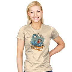 Mega and Rush - Womens - T-Shirts - RIPT Apparel