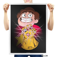 Steven and the infinity Gems - Prints - Posters - RIPT Apparel