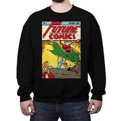 Future Comics 1 - Crew Neck Sweatshirt - Crew Neck Sweatshirt - RIPT Apparel