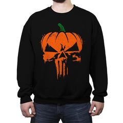 The Pumpkinsher - Crew Neck Sweatshirt - Crew Neck Sweatshirt - RIPT Apparel