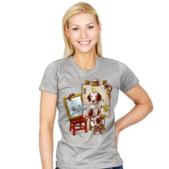 Triple Beagle Portrait - Art Attack - Womens - T-Shirts - RIPT Apparel