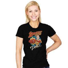One Rocket Punch - Womens - T-Shirts - RIPT Apparel